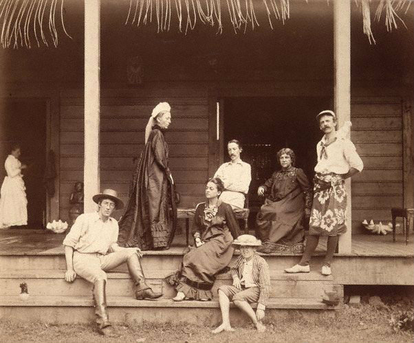 Stevenson a Samoa
