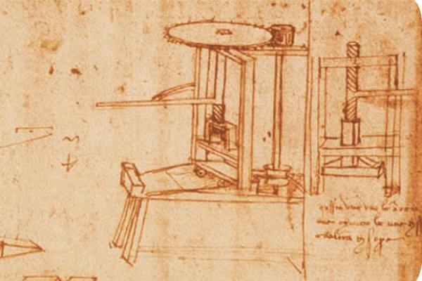 Il torchio di Leonardo da Vinci
