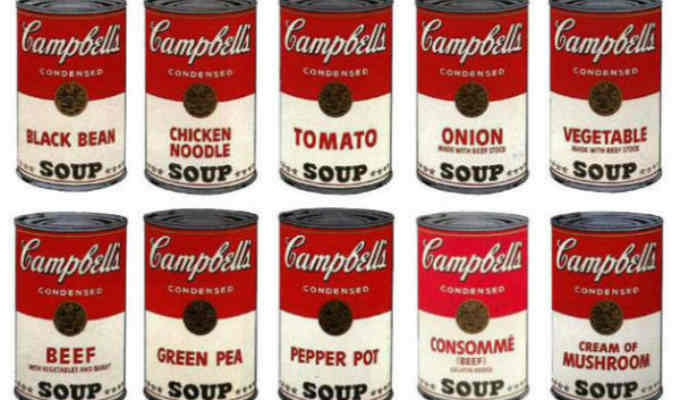 Warhol Campbell Soup