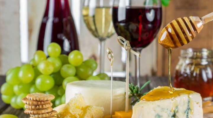abbinamenti tra cibo e vino
