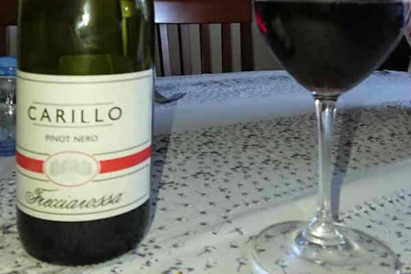 Carillo Pinot Nero Oltrepò Pavese DOC 2014 – Frecciarossa