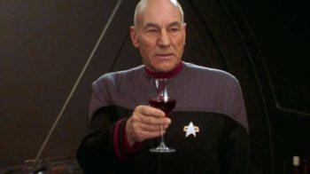 Il vino di Chateau Picard (si, quello di Star Trek)