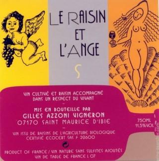 Le Raisin et l'Ange rosé S 2008