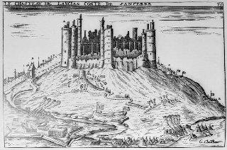 L'Abazia di Theleme - incisione di inizio XVII secolo