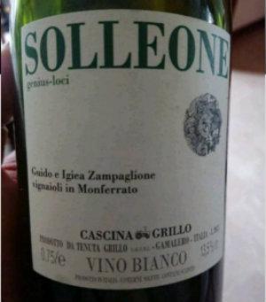 Cascina Grillo Solleone 2011