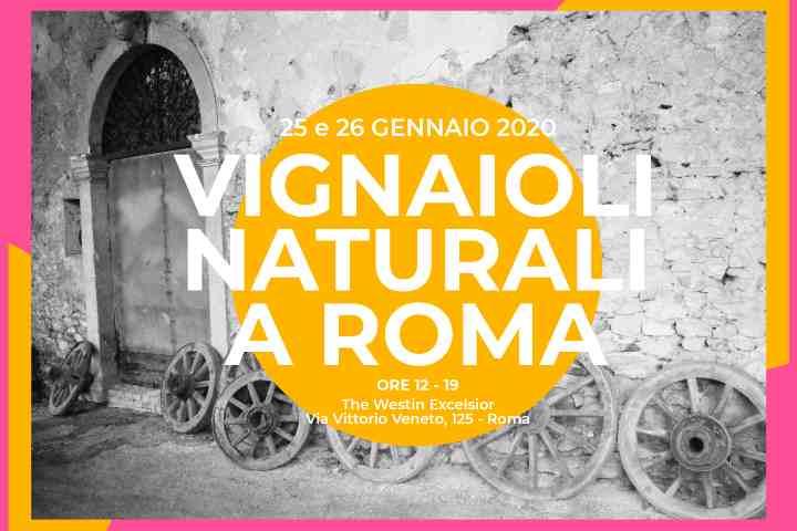 Vignaioli Naturali a Roma 2020 a gennaio